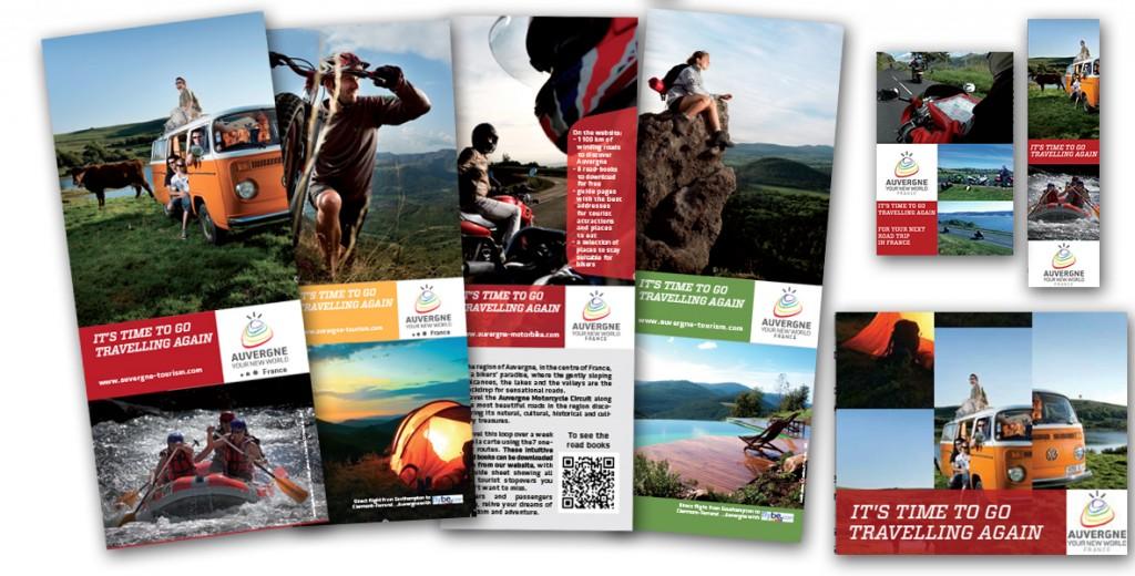 Campagnes Auvergne été