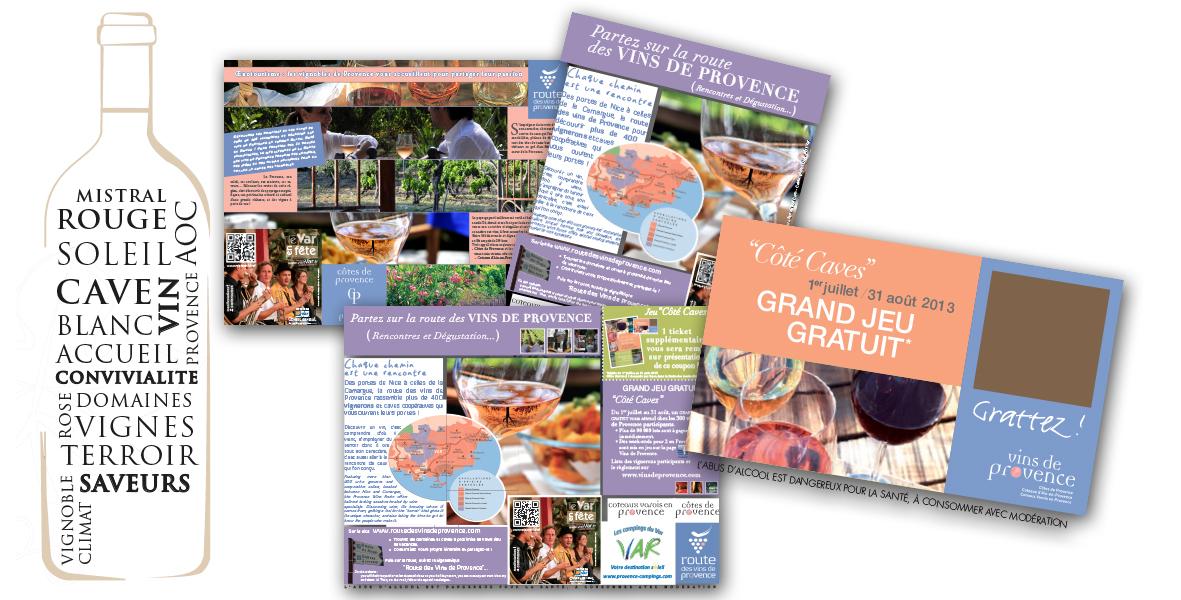 Campagnes Route des vins de provence